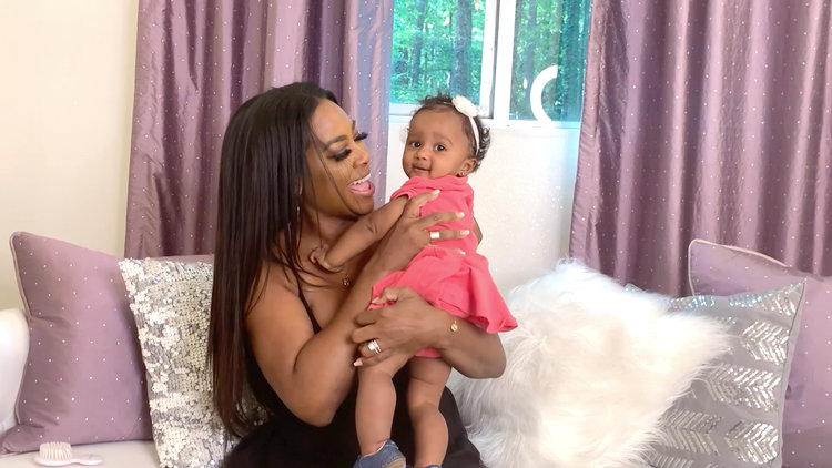 Kenya Moore Reveals Baby Brooklyn's First Word