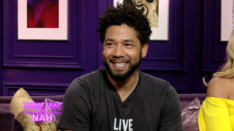 Jussie Smollett Plays Thirst Trap or Nah?