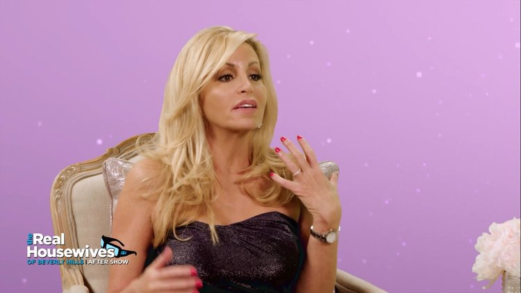 This Is How Camille Grammer Discovered Her Home Burned Down