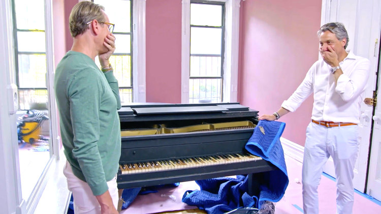 This Piano Leaves Carson Kressley and Thom Filicia Shocked