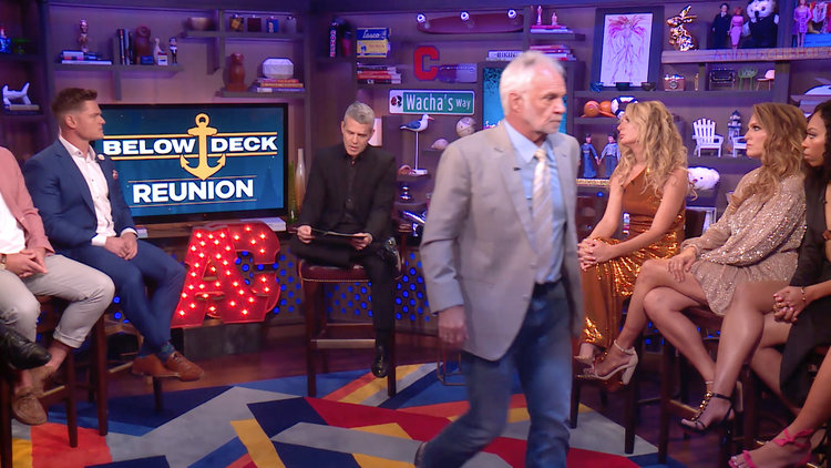 Captain Lee Storms off the Below Deck Season 7 Reunion Set