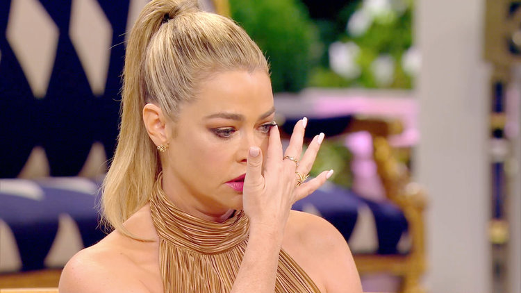 Denise Richards Breaks Down While Talking About Daughter Eloise