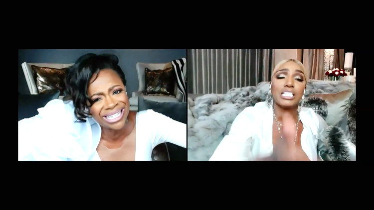 "Kandi Burruss Goes Off on Nene Leakes: ""I'm Embedded in Your Mother F---ing Brain, Bitch!"""