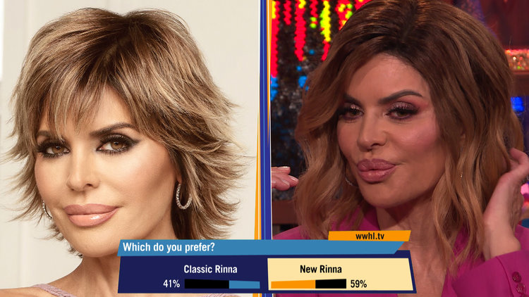 Lisa Rinna Talks About Her Old Hairstyle