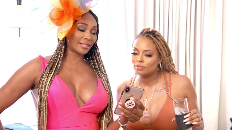 "Nene Leakes Calls Cynthia Bailey ""Weak"" and ""Desperate"""