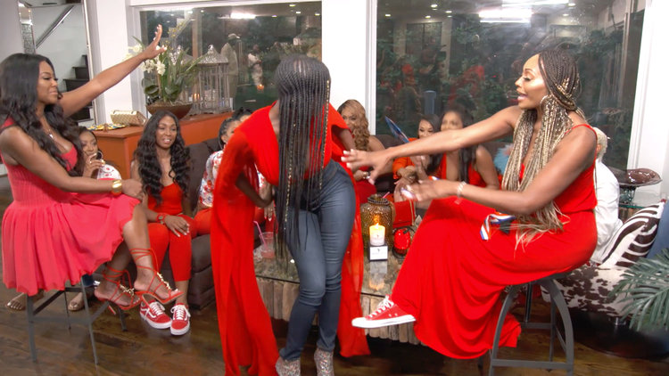 Unseen Footage: The Atlanta Housewives' Twerking Contest