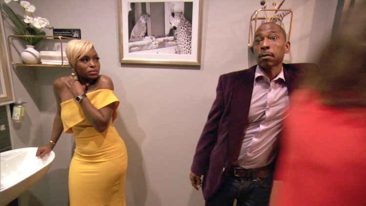 Did Quad Webb's Blind Date Really Just Follow Her Into the Bathroom?