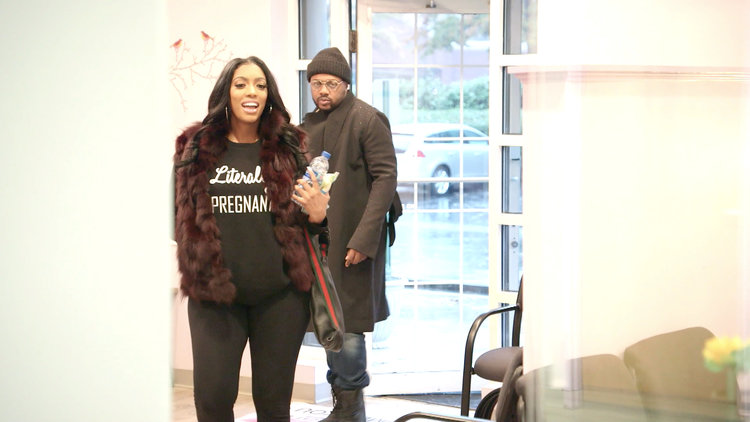 Porsha Williams Slays Baby Bump Style