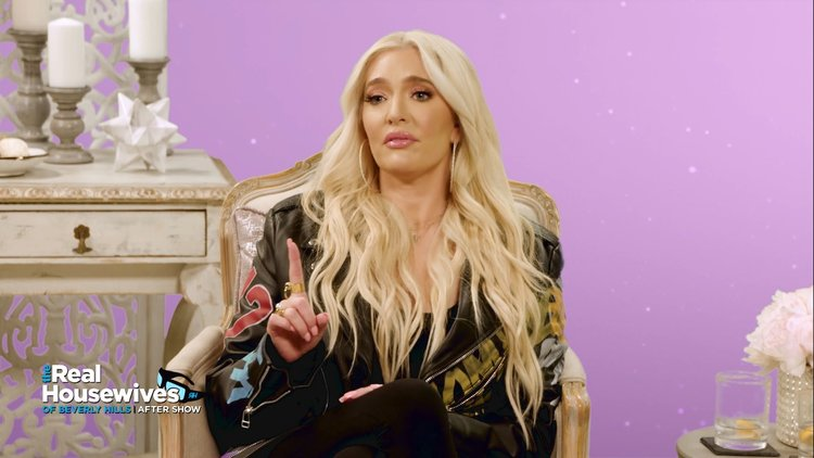 "Kyle Richards on Erika Jayne: ""She Does Have a Wall Up Often"""