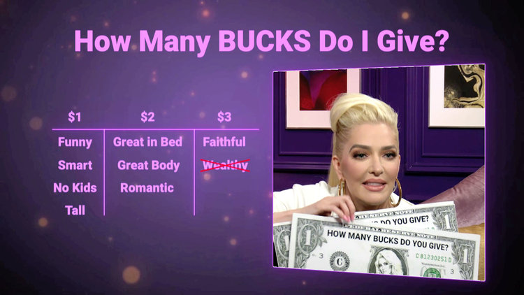 Erika Jayne Reveals the 2 Most Important Qualities in a Man