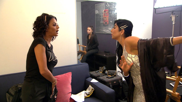 Destiney Rose Tries to Convince a Very Upset GG to Stay at the Reunion