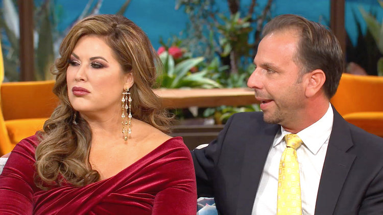 Andy Cohen Asks Shane What He Loves About Emily Simpson