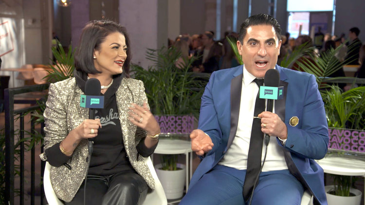 Reza Farahan and Mike Shouhed Reconcile at BravoCon
