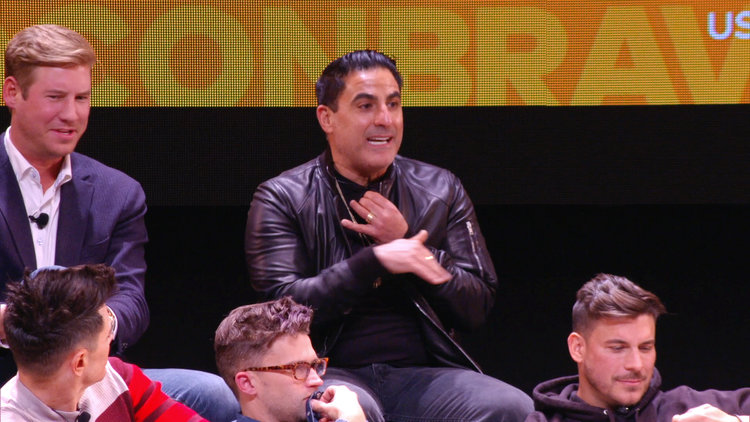 "Reza Farahan Is ""Super Hopeful"" About Repairing a Friendship with MJ Javid"