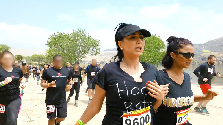 The Shahs of Sunset Do a Mud Run
