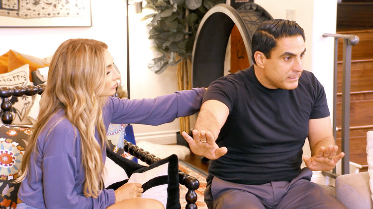 "The Shahs of Sunset Are Struggling to Choose Sides Between Reza Farahan and Mercedes ""MJ"" Javid"