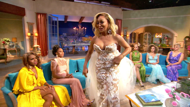 Karen Huger Walks Out of the RHOP Reunion Sobbing