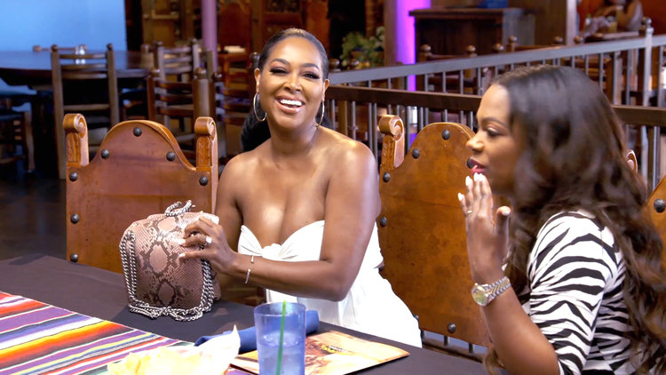 Kenya Moore Walks Out of Nene Leakes' Brunch After 7 Minutes
