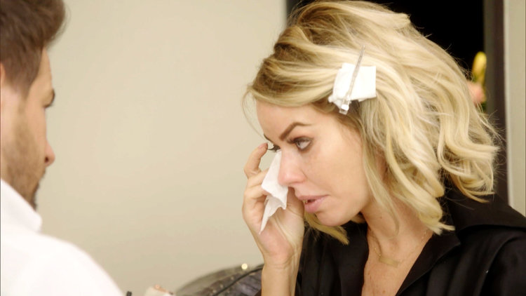 Caroline Stanbury Cries
