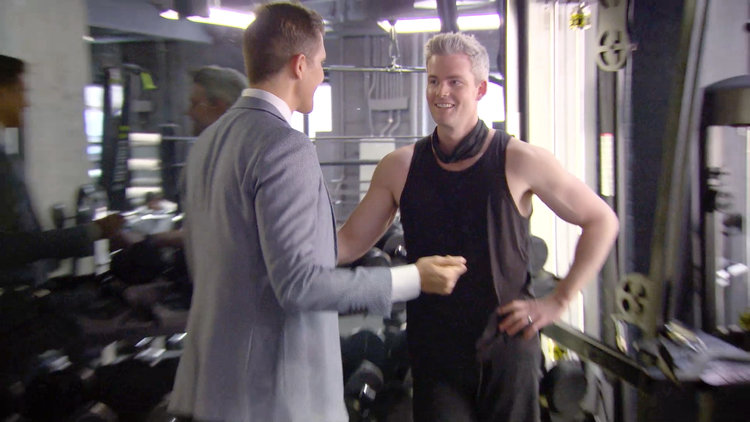 Fredrik Eklund Crashes Ryan Serhant's Workout