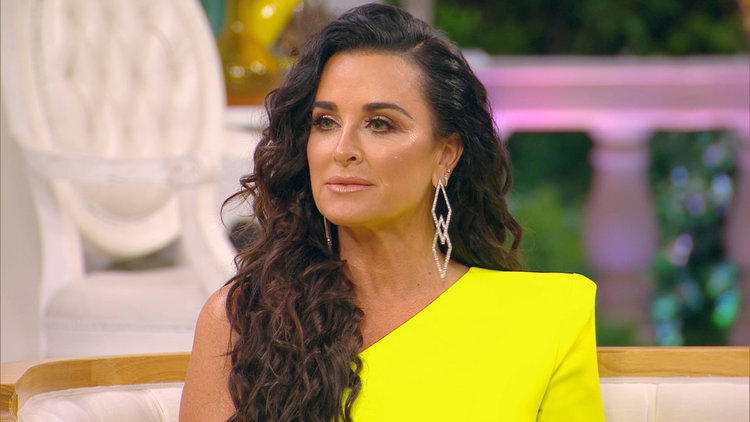Kyle Richards Has Her Own Theory As to Why Lisa Vanderpump Quit RHOBH