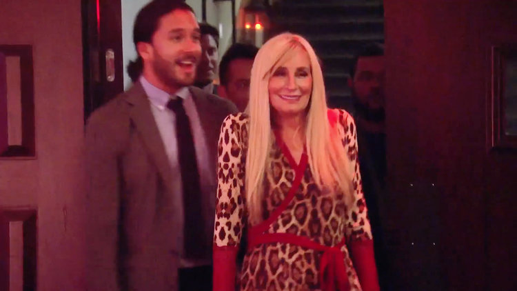 Sonja Morgan's Hair Is Longer Than Ever While She Twins with Dorinda Medley in Leopard