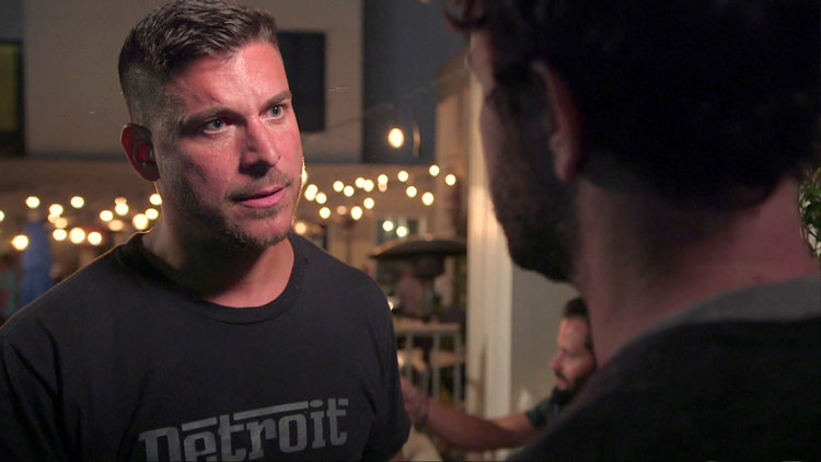 Jax Taylor Gets Increasingly Uncomfortable When Girls Show Up At Guys Night