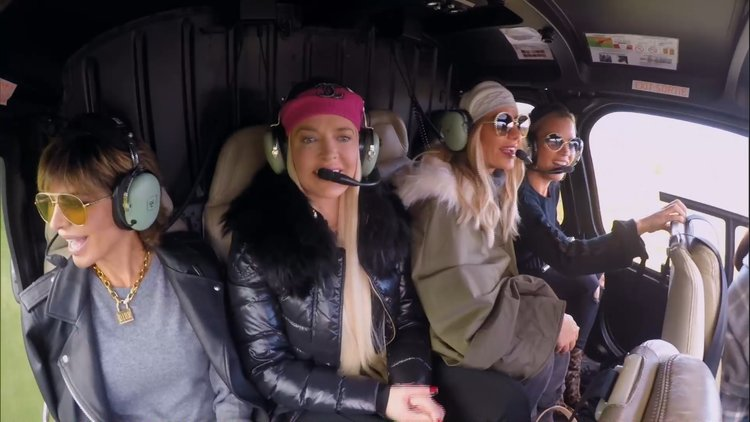 The RHOBH Ladies Take a Helicopter Ride