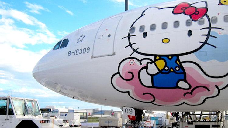 6bcaf14e7 EVA Air Hello Kitty Plane Details | JetSet
