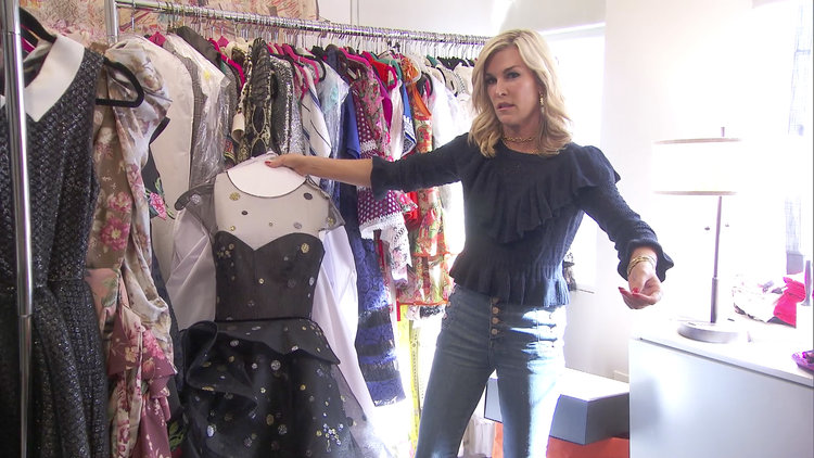 Tinsley Mortimer Has a Brand-New Closet