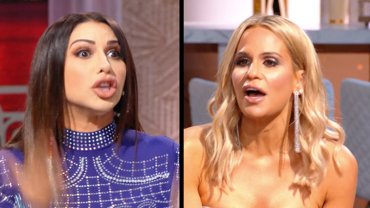 Jennifer Aydin Calls Jackie Goldschneider Out for Being Boring