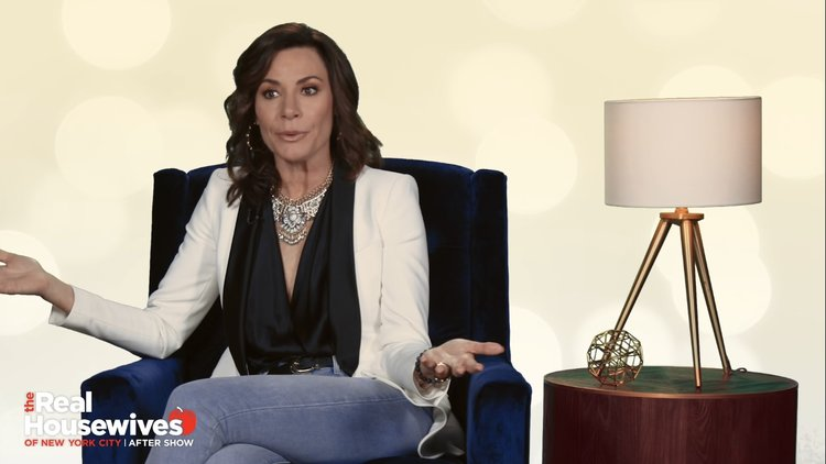 Luann de Lesseps Reacts to That Explosive Dinner With Bethenny Frankel in Miami