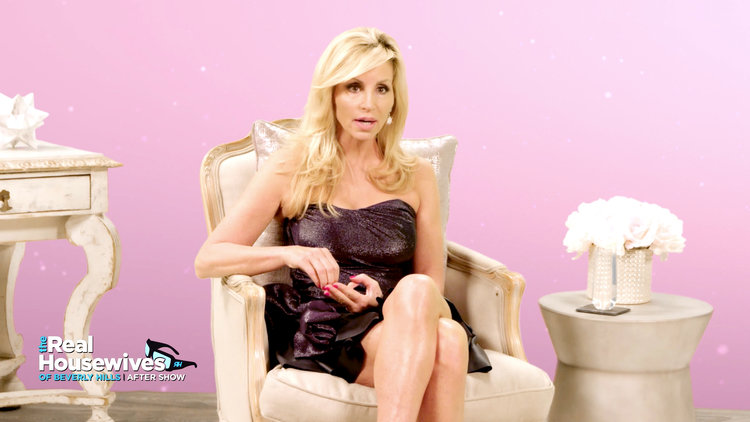 Camille Grammer Reveals Her Children Weren't Thrilled About Her Marriage to David