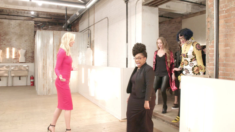 The Designers See the Project Runway Workroom for the First Time