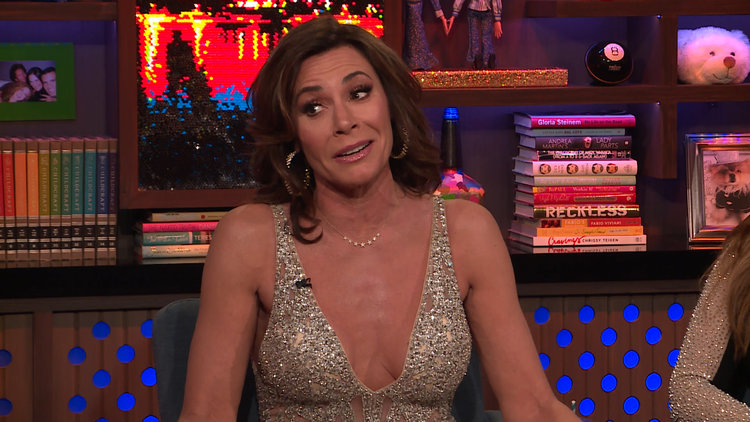 Luann de Lesseps on Bethenny Frankel & the Fish Room
