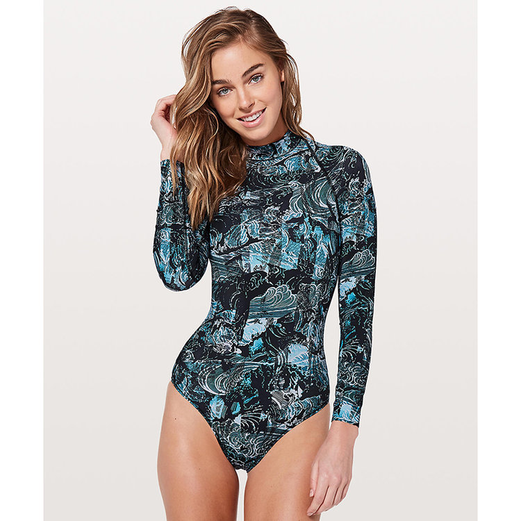 long sleeve bathing suit