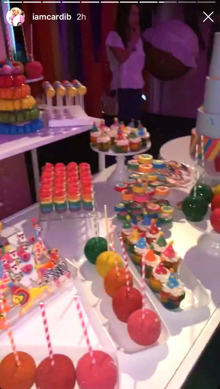 Cardi B And Offset Kulture Cephus 1st Birthday Cake Pics Style Living