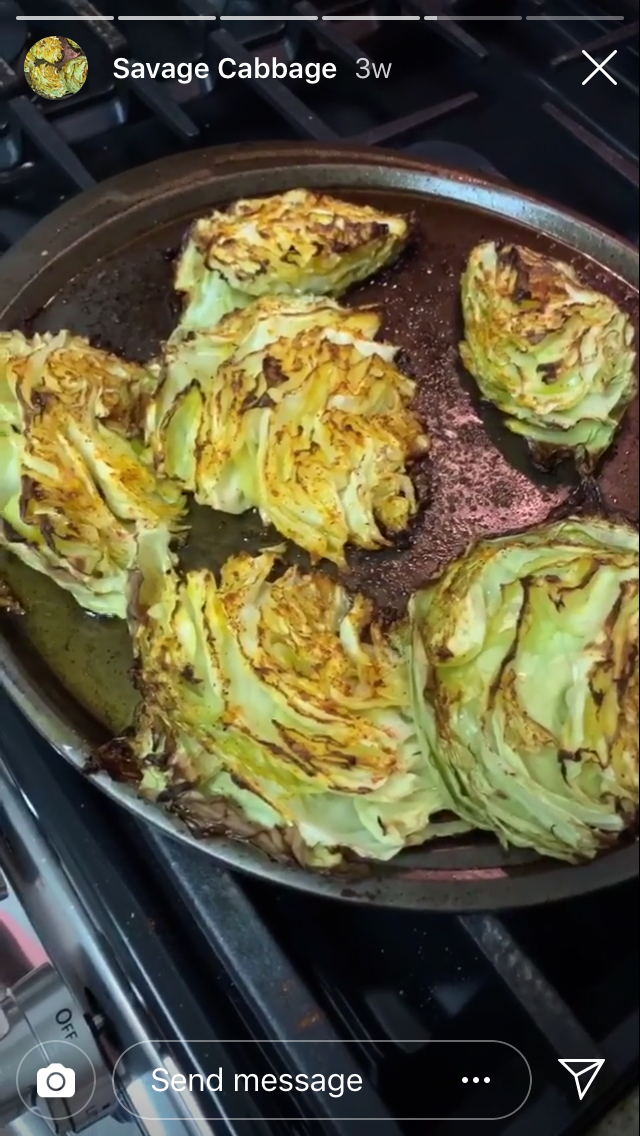 Jenna Jameson S Keto Savage Cabbage Recipe From Instagram Style Living