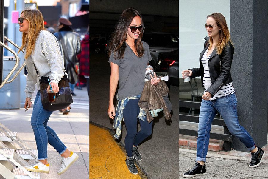 Celebrities Love Golden Goose Sneakers