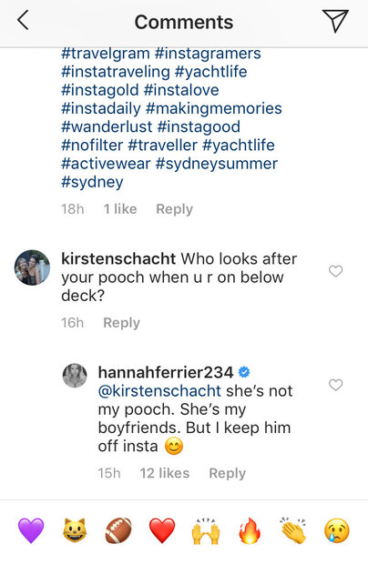 Who Is Hannah Ferrier Dating? See Valentine's Day Post | The