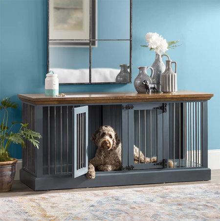 Best Designer Dog Crates That Look Like Furniture Home Design