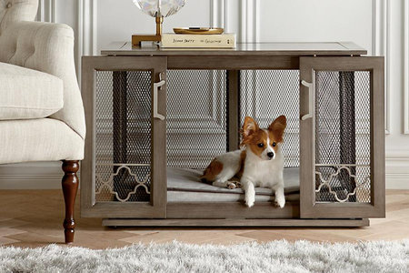 Best Designer Dog Crates That Look Like Furniture Home Design