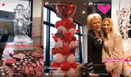 Dorinda's NYC V-Day