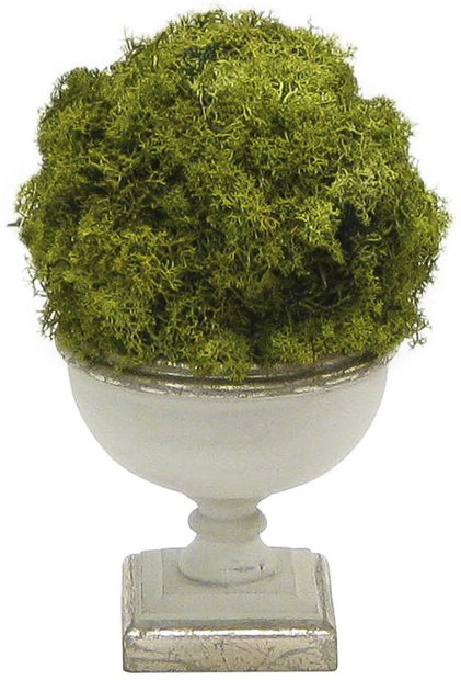 Greyleigh Ball Moss Topiary Faux Plant