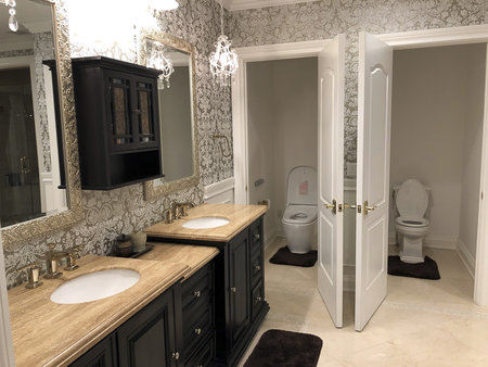 Master Bathrooms #1 and #2