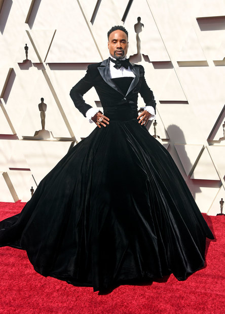 Oscars 2019 Christian Siriano Designs Tuxedo Dress For Billy Porter Style Living