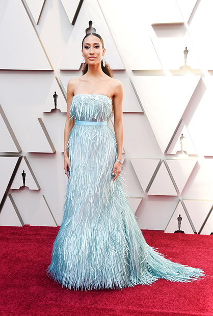 Elaine Welteroth Oscars Dress