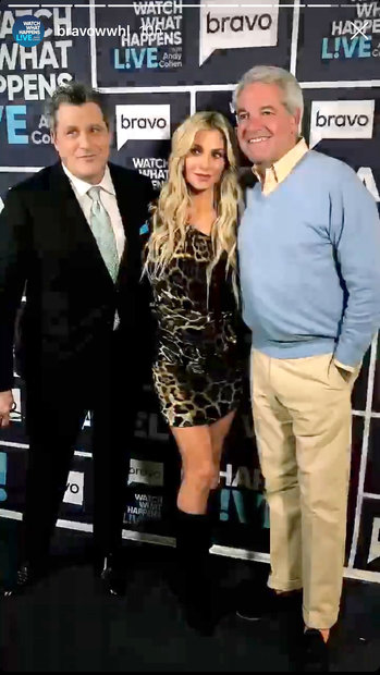 Andy King, Dorit Kemsley, Isaac Mizrahi on Watch What Happens Live With Andy Cohen