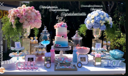 Gretchen Rossi Gender Reveal Party Pictures