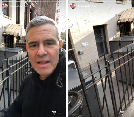 Andy Cohen on Bank Street